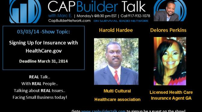 Signup for Health Insurance With HealthCare.gov