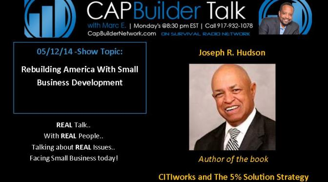 Rebuilding America With Small Business Development