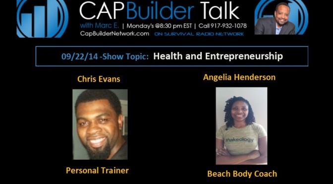 Your Health and Entrepreneurship