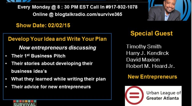 Developing Your Idea and Writing Your Plan