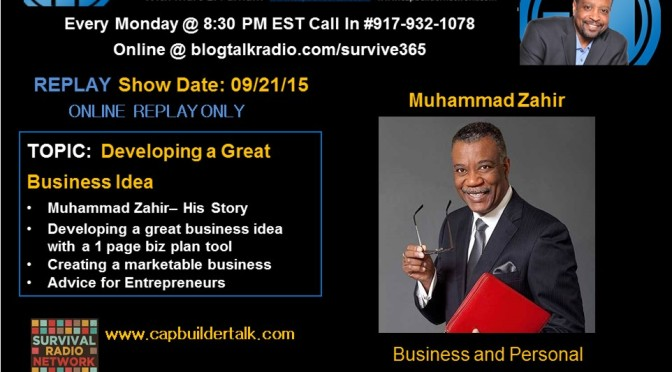 REPLAY – Develop your business idea