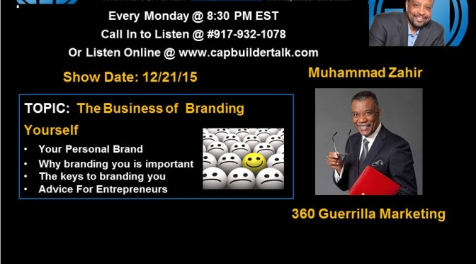 The Business of Branding Yourself