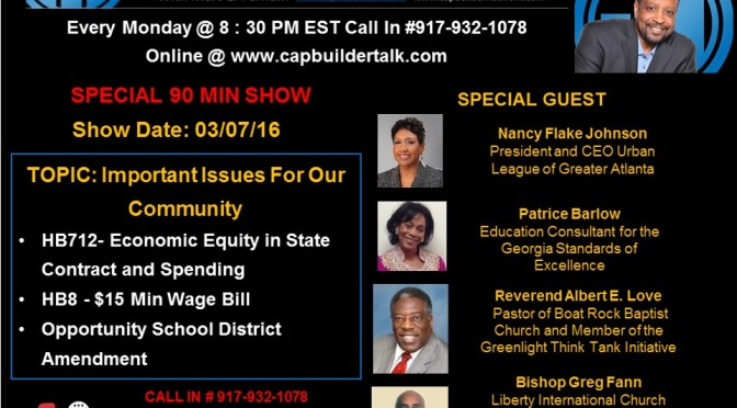SPECIAL SHOW – Important Issues For Our Community