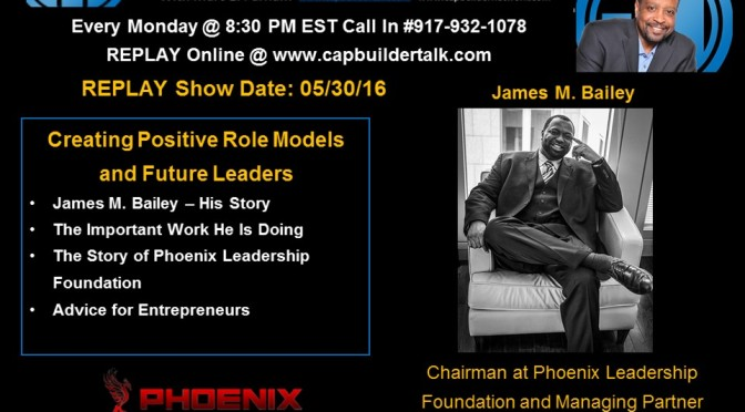 Memorial Day REPLAY Show – Jay Bailey on Exposure and Creating Future Leaders