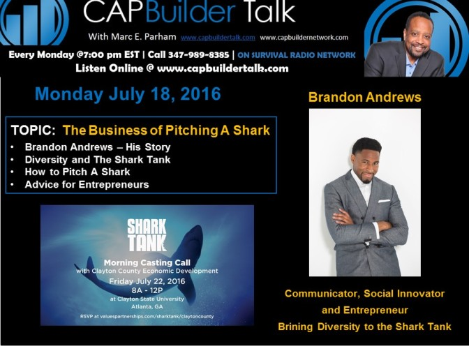 The Business of Pitching A Shark