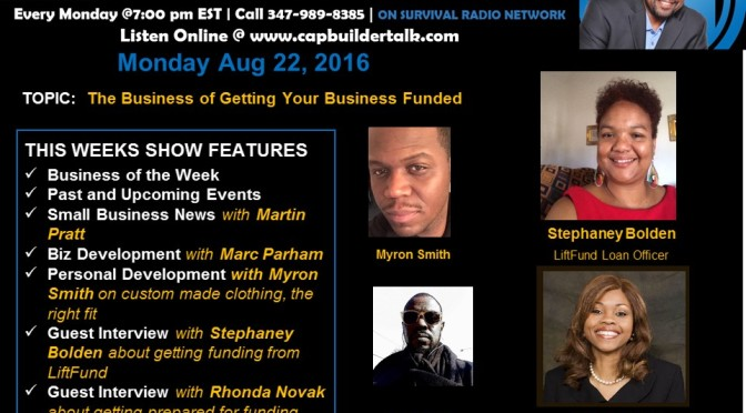REPLAY SHOW: Getting Your Business Funded