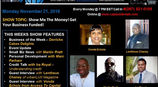 Show me the money! Get your business funded with Vonda Echols