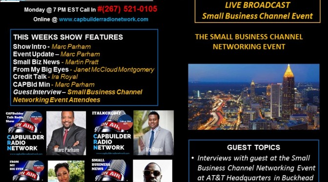 LIVE BROADCAST @ The Small Business Channel Networking Event
