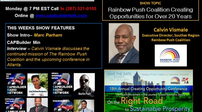 Rainbow Push Coalition Creating Opportunities for Over 20 Years