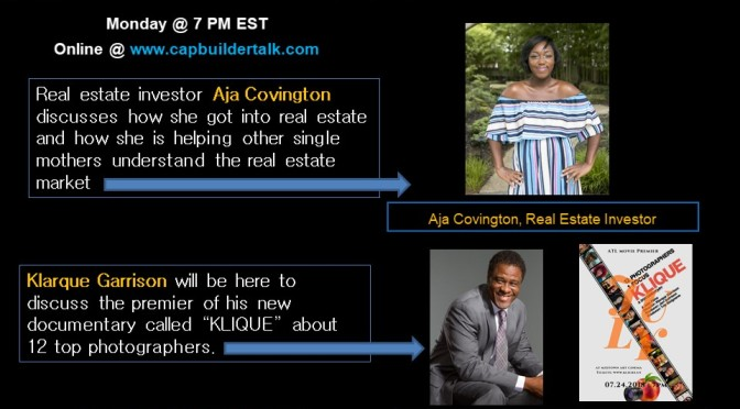 Guest Aja Covington and Klarque Garrison