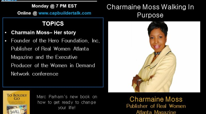 Charmaine Moss Walking In Purpose