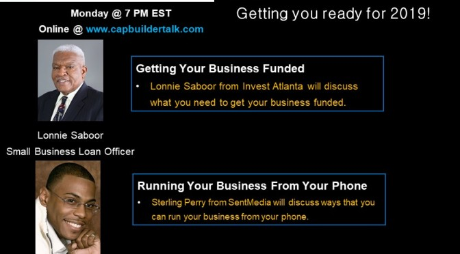 Getting your business funded and running your business from your phone