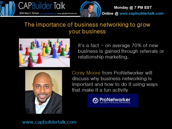 The importance of business networking to grow your business