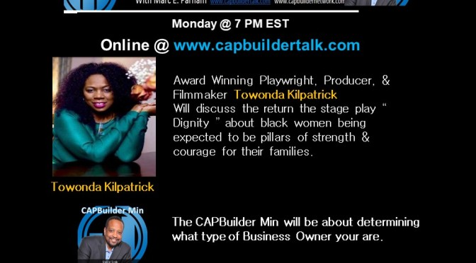 Award Winning Playwright Towonda Kilpatrick