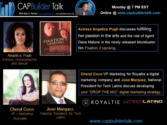 Angelica Pugh, her latest movie, Cheryl Coco and Jose Marquez digital marketing