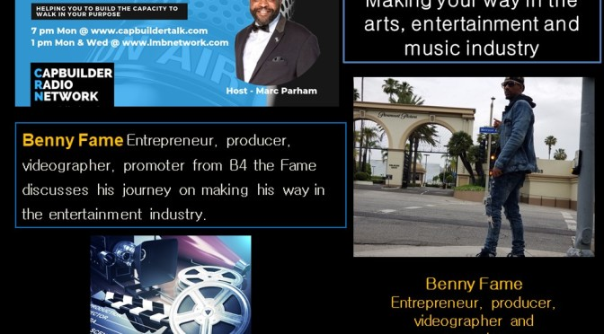 Making your way in the arts, entertainment and music industry