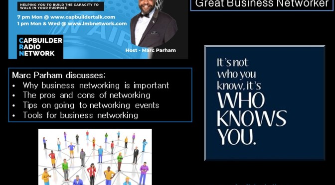 How to get the most out of business networking