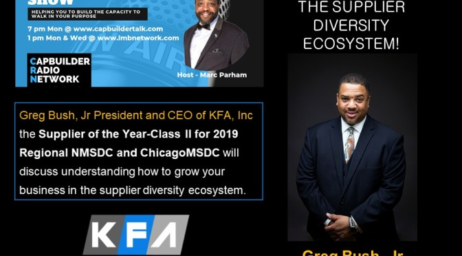 Understanding the Supplier Diversity Ecosystem with Greg Bush, Jr.